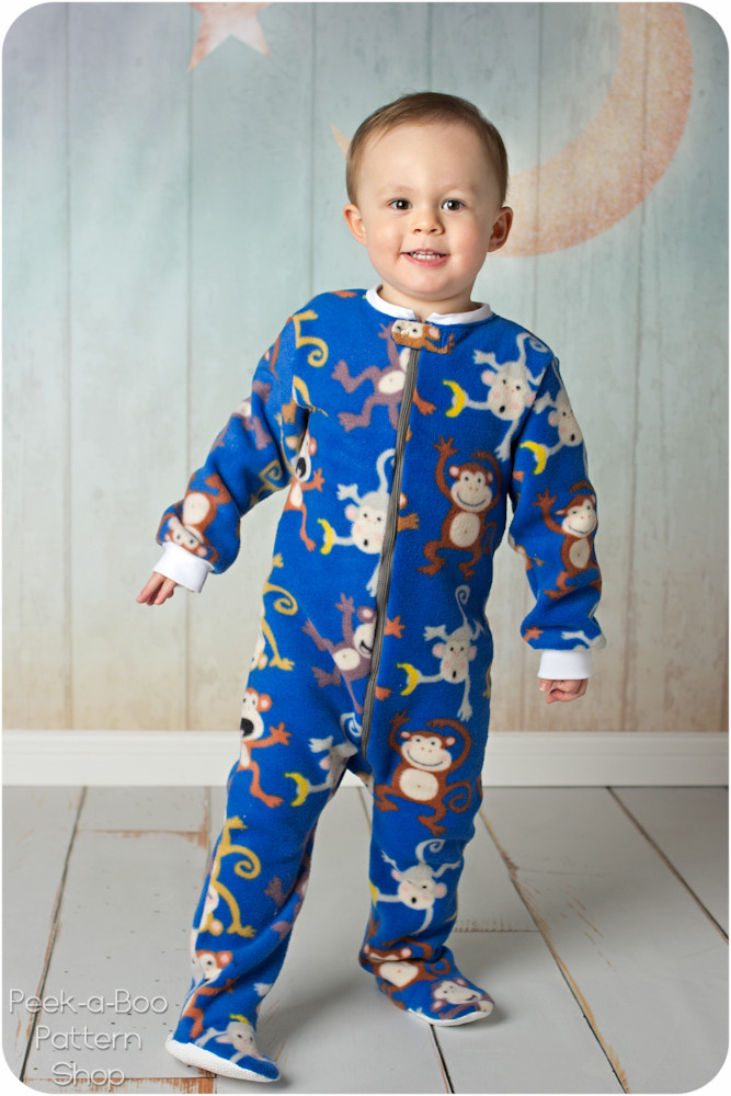 Footed Pajamas For Children Breeze Clothing