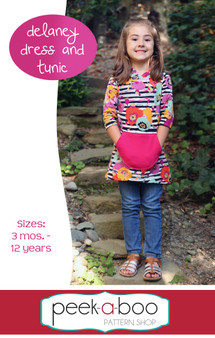 Delaney Dress & Tunic Sewing Pattern