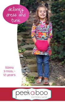 Delaney Dress & Tunic Sewing Pattern