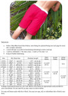 Surf's Up Board Shorts Size Chart & Materials List