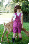 Girls Overalls Sewing Pattern
