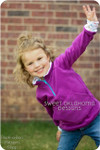 Toddler Girls' Fleece Jacket Pattern