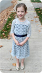 Girl's Lace Dress Pattern