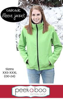 Cascade Fleece Jacket Sewing Pattern