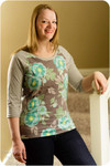 Rainier Raglan Women's Sewing Pattern