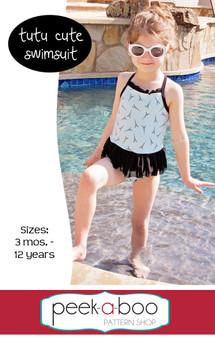 Tutu Cute Swimsuit Pattern