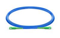 SC APC to SC APC Simplex Single Mode Armored PVC (OFNR) Patch Cable
