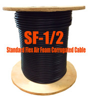 Standard Flex 50 Ohm Coax Cable Bulk 500' Reel (Compare to LDF4-50A -1/2) - SF12D