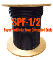"1/2"" Super Flexible 50 ohm Coax Cable - 1000' (Compare to Commscope FSJ4-50B) - SPF12M"