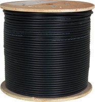 RG6 Direct Burial Coax Cable for CATV, 1,000 ft Reel