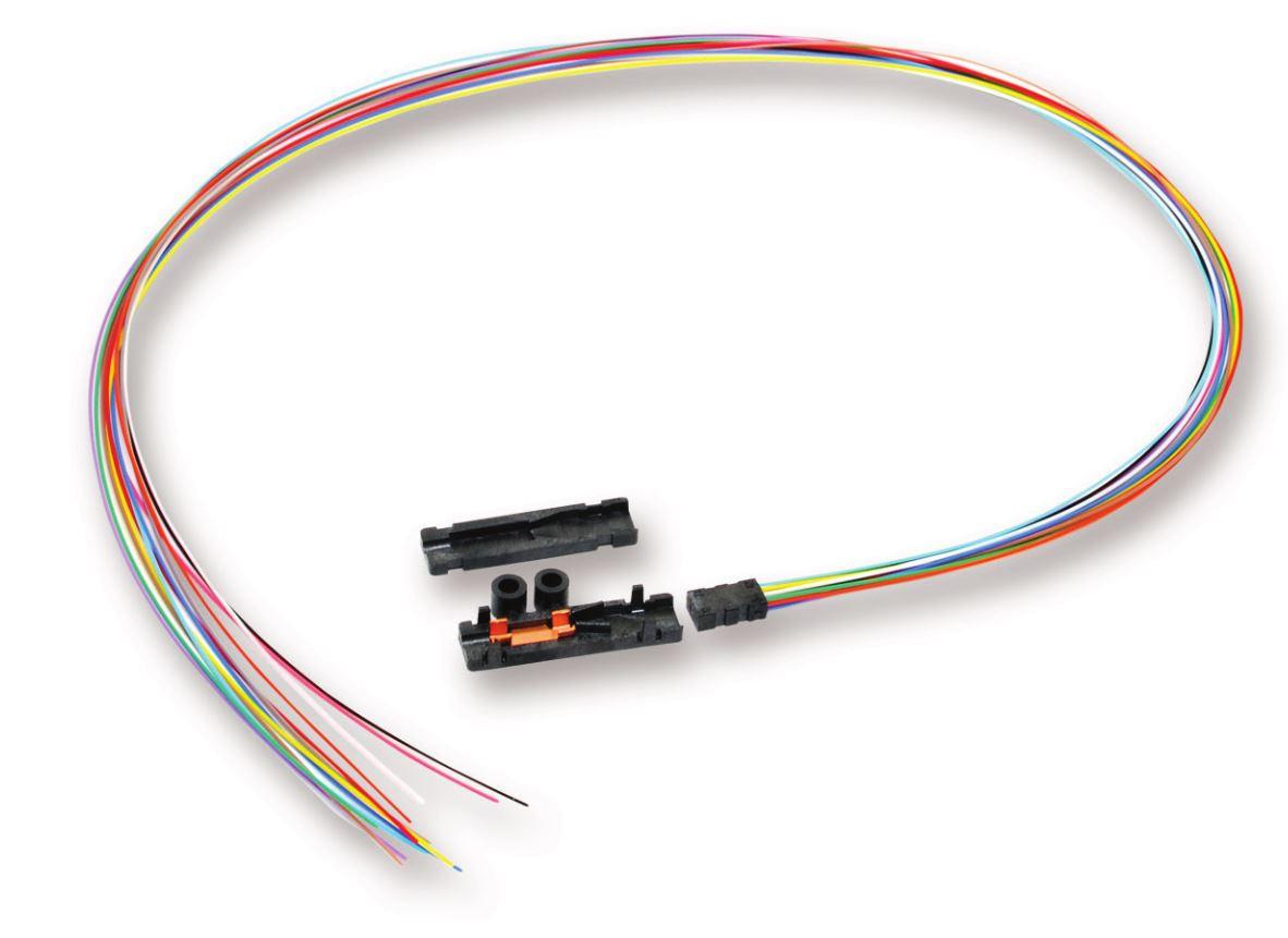 Corning 12 Fiber Ribbon Fan-Out Kit, 900um 36\