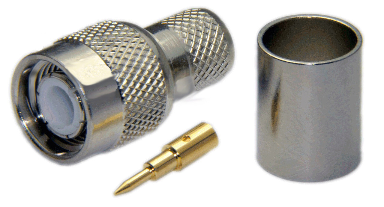 Tnc Male Connector For Lmr400 Lmr400uf Low400 Rg8u