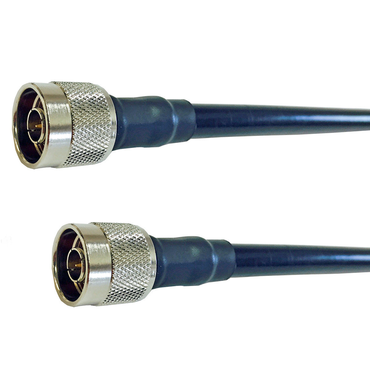 Rf Coaxial Cable : Lmr type jumper n male to  quot low loss
