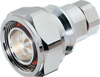 "7/16 DIN Male Connectors for 1/2"" super flex cable (similar to F4PDMV2-C) - DINMSPF12"