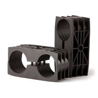 "COAX SUPPORT BLOCKS from 1/4"" to 1-5/8"" - Pack of 10"