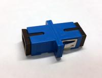 COUPLER SCU TO SCU SM BLUE FEM SIMPLEX CER SC FOOTPRINT SMALL FLANGE - FCSCUSCUSMBLFF1CFL