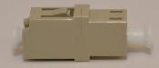 LC Duplex Beige Multimode Coupler without flange -FCLCULCUMMBGFF2CXH