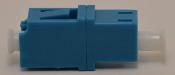 LC Duplex Blue Singlemode Coupler without flange - FCLCULCUSMBLFF2CXH