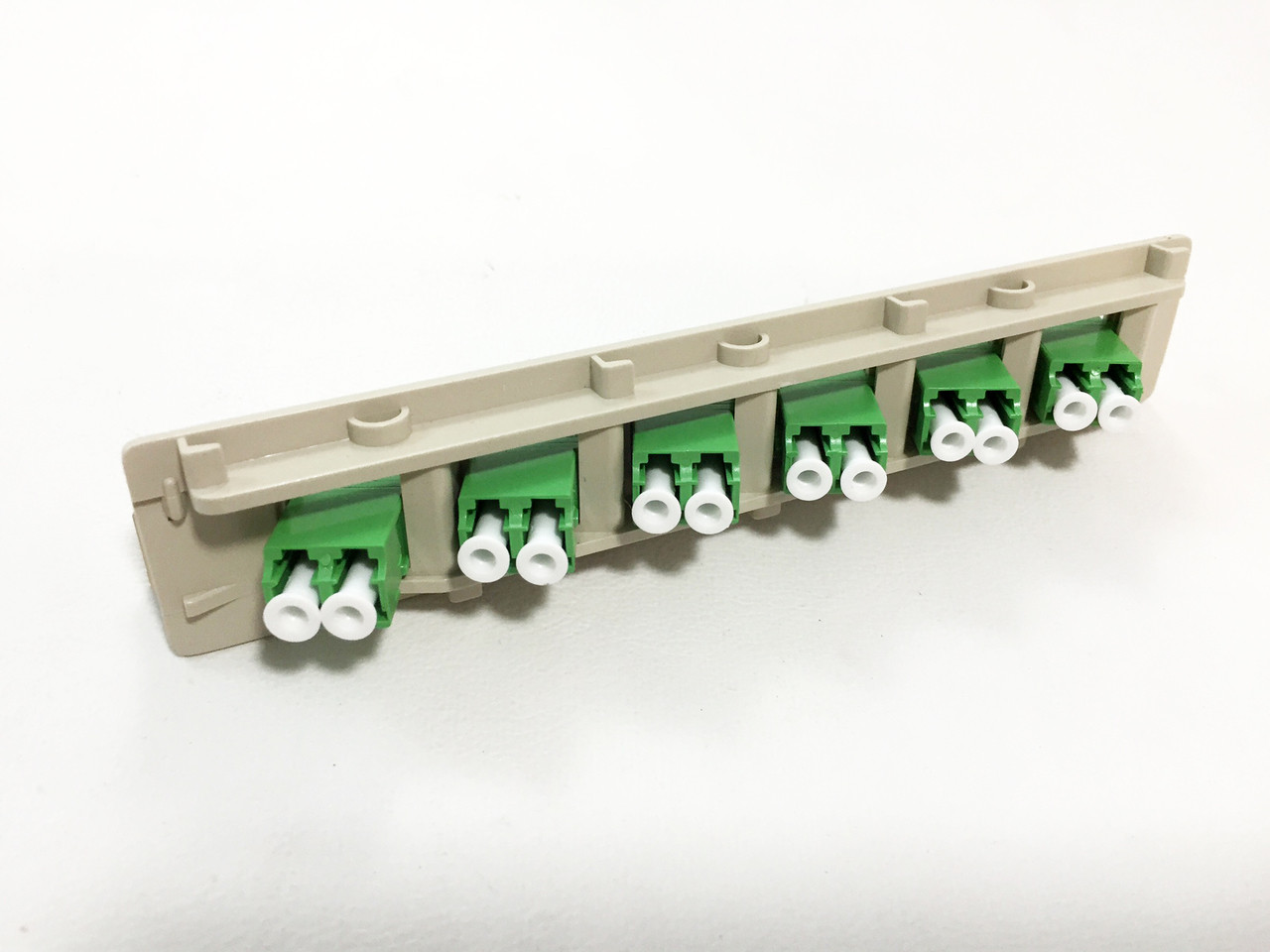 FL2 type 6 PACK SM LCA DUPLEX 12 port Fiber Adapter Plate - Equal to FL2-6PSMALC