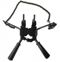 Handle Clamp with Chain Attachment for Exothermic Molds