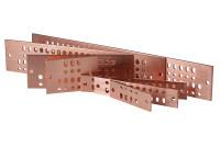 "Standard 4"" Solid Copper Bus Bars (No Kit)"