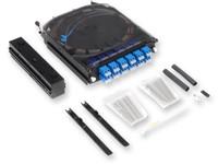 CCH Pigtailed Splice Cassette, 24 F, LC UPC duplex, Single-mode (OS2), single-fiber (250 µm) - CCHCS24A9P00RE