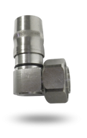 JMA - UXP-DRA-12 - 7-16 DIN Male Right Angle Connector For 1/2 Annular Cables