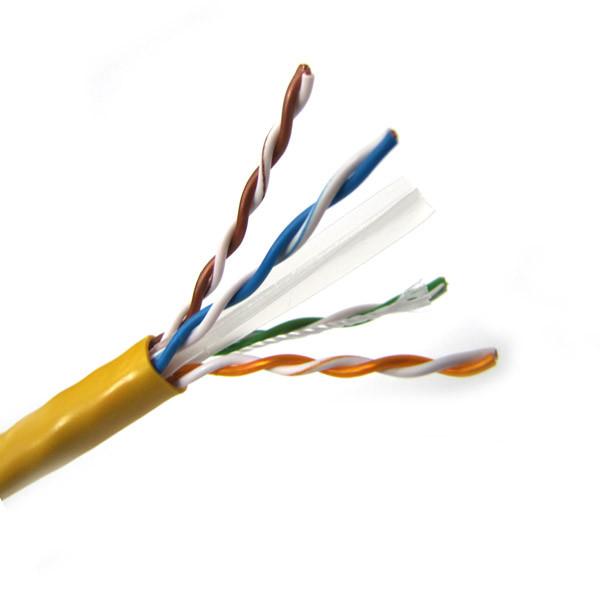 CAT6 UTP CMR Solid PVC Ethernet Cable 4PR 1000\' Box - C6UTPSDR423 ...