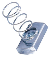 Galvanized Spring Nuts - Pack of 100