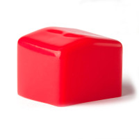"Strut End Caps Red - 1-5/8"" - Pack of 100"