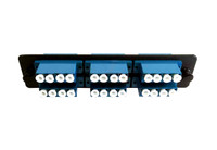 24 Fiber LC UPC Singlemode Adapter Panel LGX