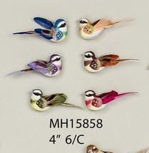 """BIRD 4"""" ASST COLORS 1DZ #5858"""