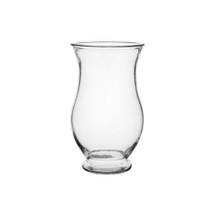 """Regency 7"""" clear vase 12/cs"""