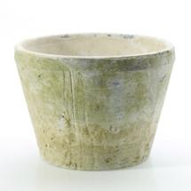 """Antique white pot 7.75"""" x 6"""""""