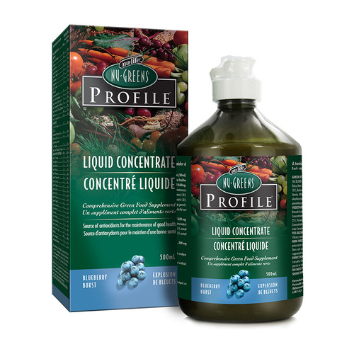 Greens - Liquid Blueberry Flavor (500 mL)