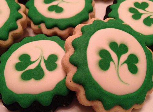 St Patty's Day Sugar Cookies - 12 Pack