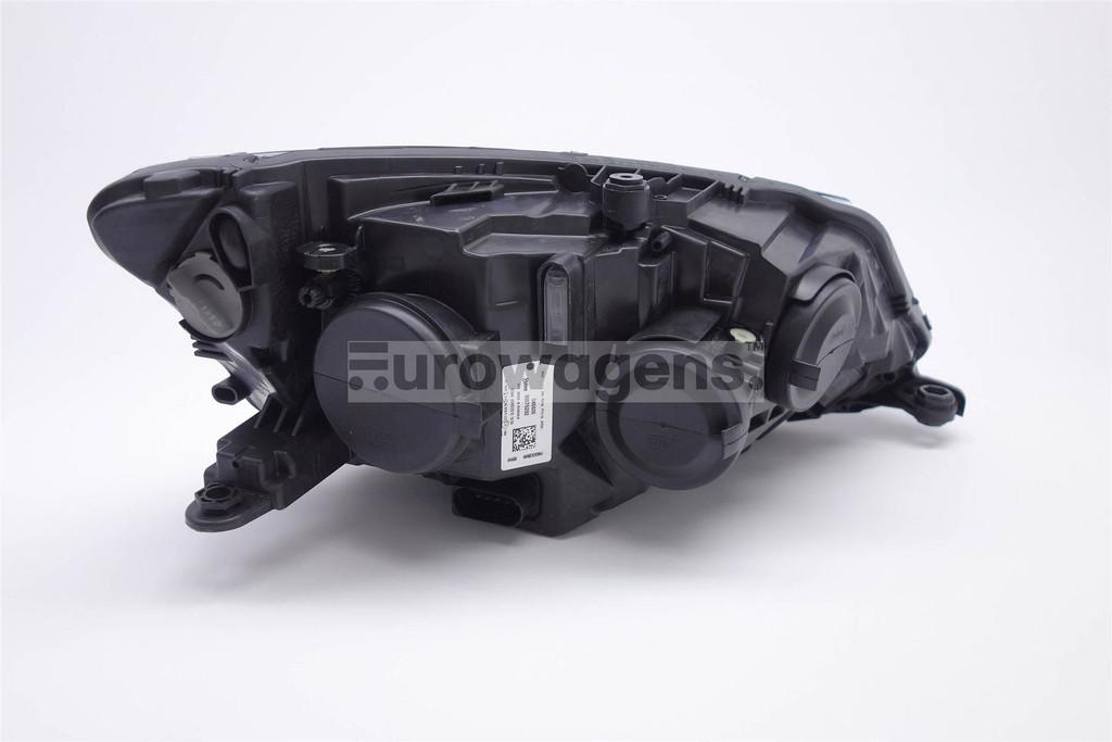 Headlight left black Skoda Fabia 15-17