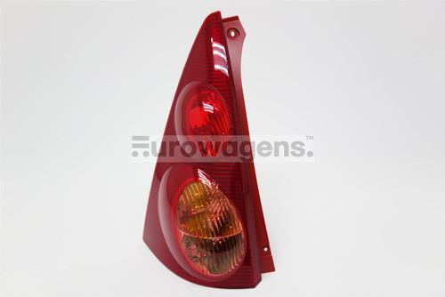 Rear light left red Peugeot 107 Citroen C1 05-12