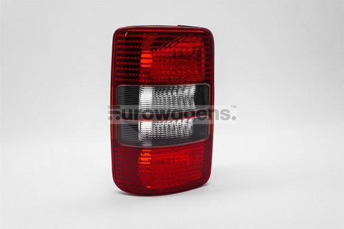 Rear light left smoked VW Caddy MK3 10-15 2 door