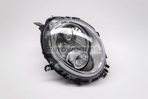 Headlight left chrome Mini Copper 06-14