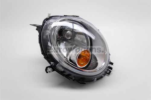Headlight left chrome orange Mini Cooper 06-14