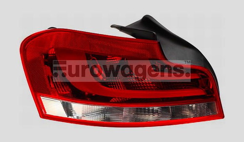 Rear light left black line LED BMW 1 Series E82 11-13