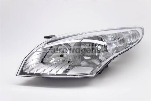 Headlight left chrome Renault Megane 08-11