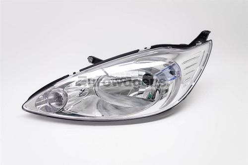 Headlight left chrome Ford KA 08-16