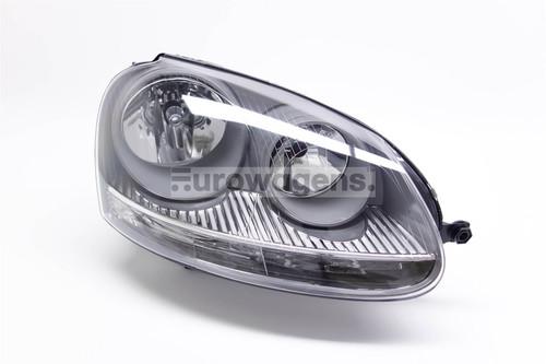 Headlight right grey VW Golf MK5 Jetta MK3