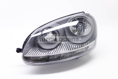 Headlight left grey VW Golf MK5 Jetta MK3