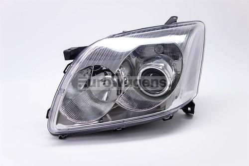 Headlight chrome left Toyota Avensis 03-06