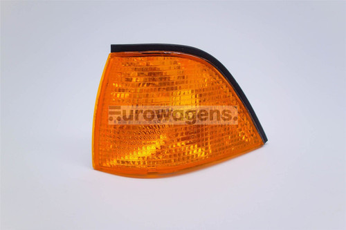 Front indicator left orange BMW 3 Series E36 91-99 2 door