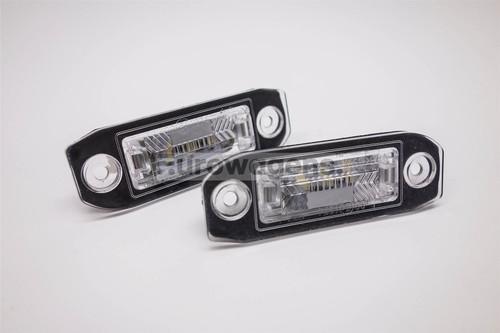 Number plate lights set LED Volvo C70 V60 S60 V70 V50 S40 V40 S80 XC70 XC90