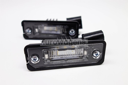 Number plate lights set LED Seat Exeo Ibiza Leon